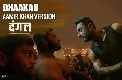 Dhaakad Aamir Khan Version song