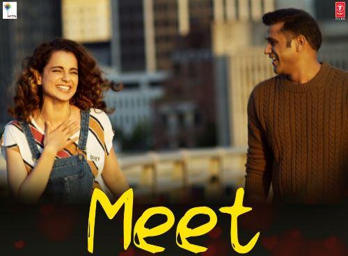 meet song - simran film 2017