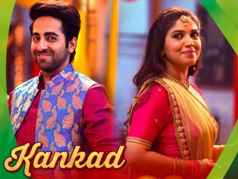 kankad song - film shubh mangal saavdhan