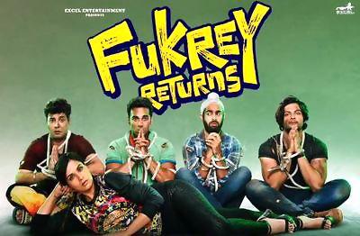 fukrey returns title song