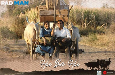 hu ba hu song film padman