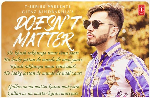 doesn't matter punjabi album song