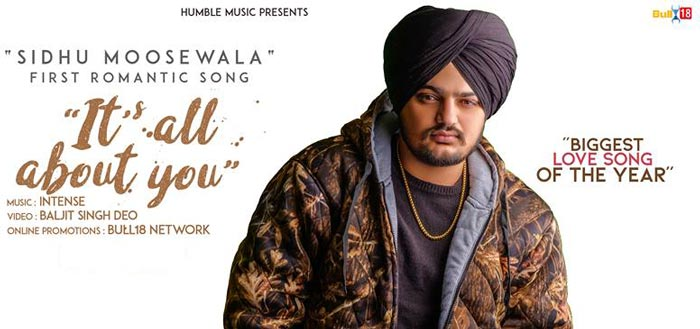 Its All About You Punjabi Song