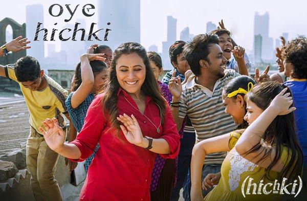oye hichki song - hichki film 2018