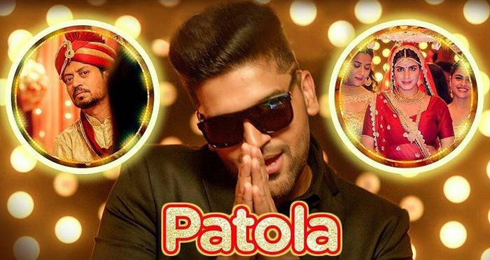 Patola Song Poster