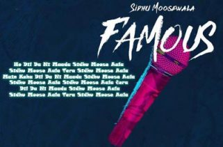 Famous lyrics punjabi Song