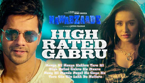 high rated gabru hindi song