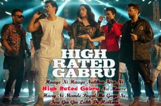 high rated gabru lyrics bollywood song