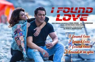 i found love lyrics bollywood song
