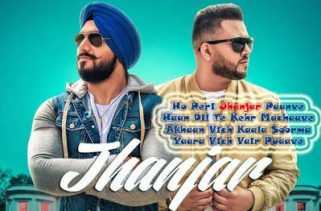 jhanjar lyrics punjabi song