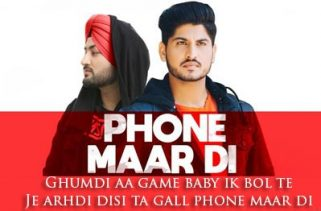 phone maar di lyrics punjabi song