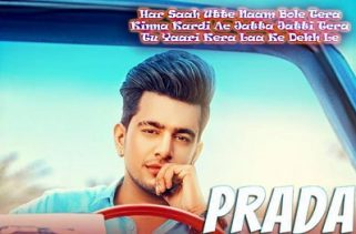 prada lyrics punjabi song