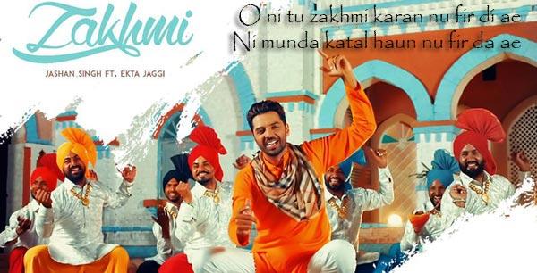 zakhmi punjabi album song