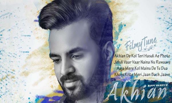 akhiyan punjabi song
