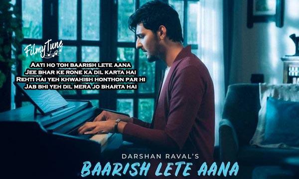 baarish lete aana song