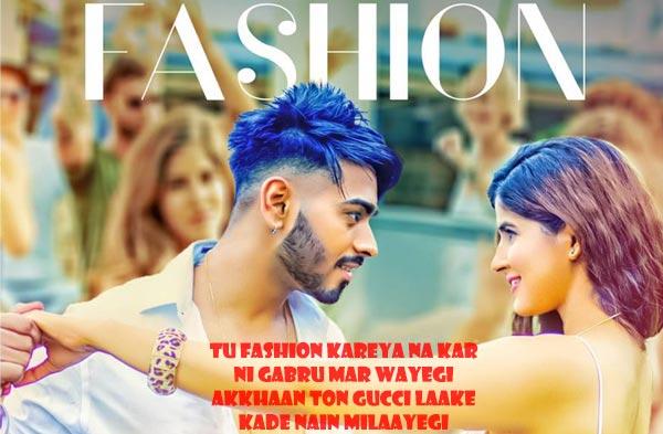 fashion punjabi song