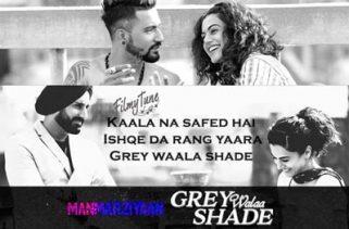 grey walaa shade lyrics hindi song