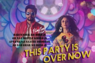 this party is over now song