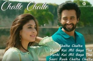 chalte chalte lyrics hindi song