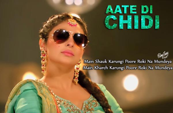 aate di chidi title song lyrics