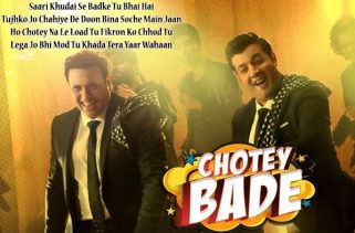 chotey bade lyrics bollywood song