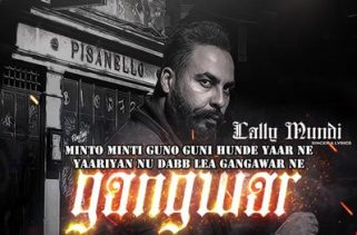 gangwar lyrics punjabi song