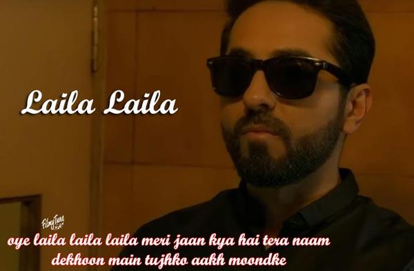 laila laila lyrics hindi song