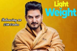 light weight lyrics punjabi song