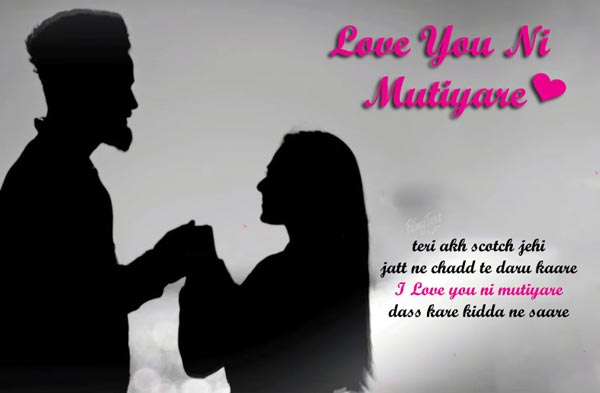 love you ni mutiyare lyrics