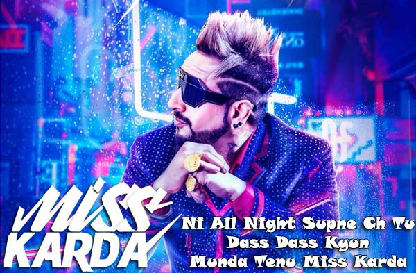 miss karda lyrics punjabi song