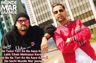 munde mar jaange lyrics punjabi song