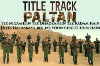 paltan lyrics title track