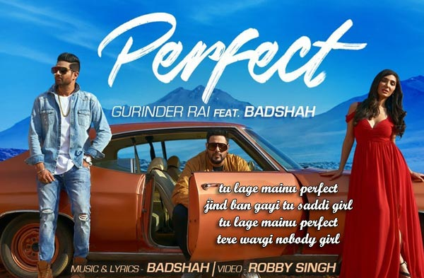 perfect lyrics punjabi song filmytune