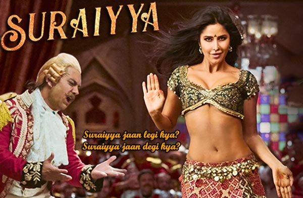 suraiyya lyrics bollywood song