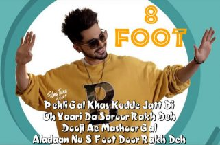 8 foot lyrics punjabi song