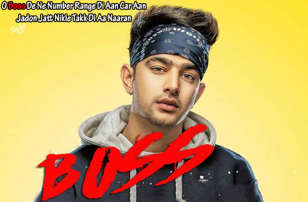 boss lyrics punjabi song