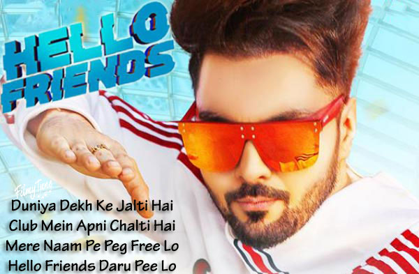 hello friends lyrics song
