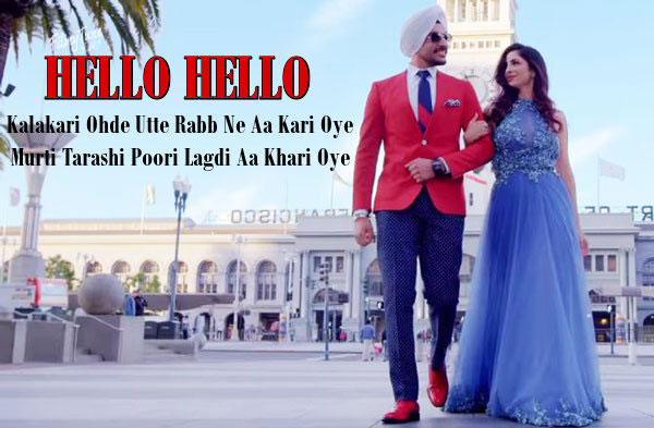 hello hello lyrics punjabi song
