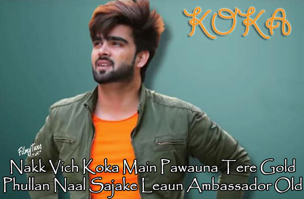 koka lyrics punjabi song