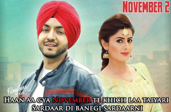 november 2 lyrics punjabi song