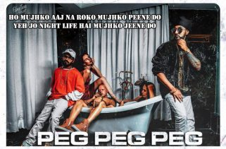 peg peg peg lyrics punjabi song