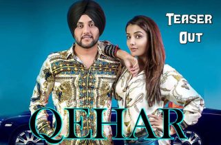 qehar lyrics song teaser poster