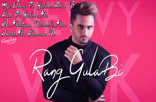rang gulabi lyrics punjabi song