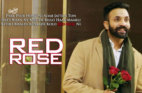 red rose lyrics punjabi song
