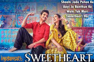 sweetheart lyrics bollywood song