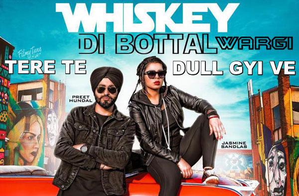 whiskey di botal lyrics punjabi song