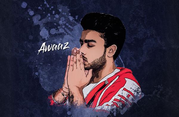 awaaz lyrics punjabi song