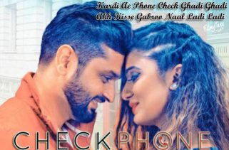 check phone lyrics punjabi song