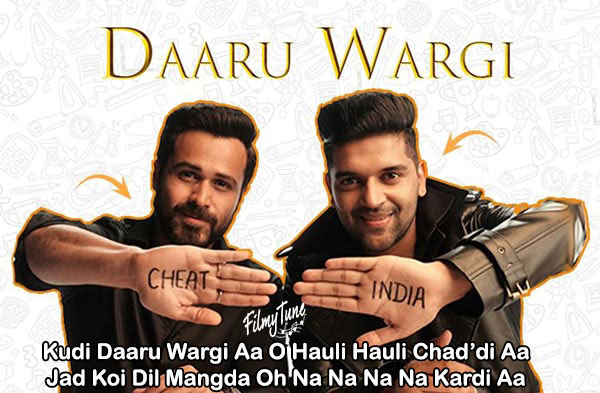 daaru wargi lyrics bollywood song