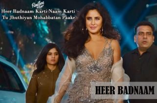heer badnaam lyrics bollywood song